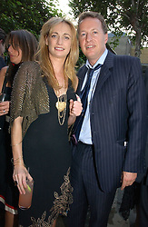 CLEMENTINE HAMBRO and ORLANDO FRASER at the Tatler Summer Party 2006 in association with Fendi held at Home House, Portman Square, London W1 on 29th June 2006.<br /><br />NON EXCLUSIVE - WORLD RIGHTS