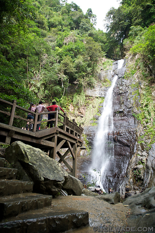 Just up the road from the Hotel Royal Chiao Hsi in JiaoSi is the Wu Feng Chi Waterfall and hiking trail.