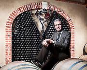 Tiziano Barea, proprietario della Tenuta Montemagno (AT).