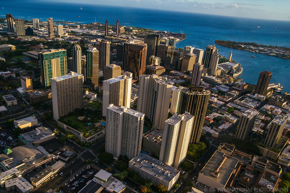 Downtown Core of Honolulu