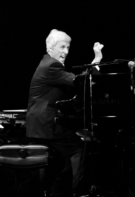 EASTON - MARCH 6: Burt Bacharach performs at State Theatre on March 6, 1998 in Easton, Pennsylvania. ©Lisa Lake