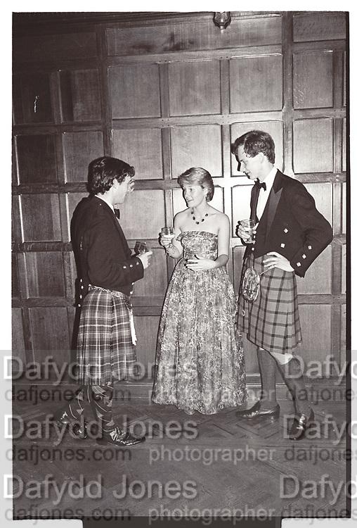 ANDREW INNES, FELICITY SALMON; MARK WILDON, Dance for William and Arabella, Caprington Castle. Kilmarnock, 3 September 1983,