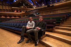 Brothers Peter (right) and David Brewis of Field Music pose for photos before their performance at The Barbican in London. Photo date: Friday, May 25, 2018. Photo credit should read: Richard Gray/EMPICS