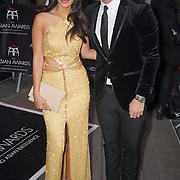 London,England,UK : 8th April 2016 : Jasmine Walia attend the The Asian Awards 2016 at Grosvenor House Hotel, Park Lane, London. Photo by See Li
