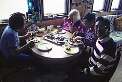 ? Barry Akpik, Grandparents Eating Whale Meat
