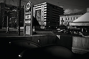"""Greece, Athens - Omonia square, centre of Athens, an area where a high percentage of drug addicts and homeless live. Greek economical crisis started in 2008. The so-called Austerity measures imposed to the country by the """"Troika"""" (European Union, European Central Bank, and International Monetary Fund) to reduce its debt, were followed by a deep recession and the worsening of life conditions for millions of people. Unemployment rate grew from 8.5% in 2008 to 25% in 2012 (source: Hellenic Statistical Authority). <br /> Bruno Simões Castanheira"""