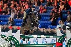Philippe Charlotte, BEL, Cacharel de Amoranda Z<br /> Jumping Mechelen 2019<br /> © Hippo Foto - Dirk Caremans<br />  26/12/2019