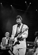 Dire Straits Mark Knopfler with Eric Clapton live at Princes Trust concert 1988