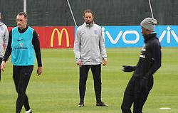 England manager Gareth Southgate during the training session at Spartak Zelenogorsk Stadium.