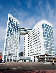 The Hague; Exterior of International Criminal Court or ICC in the Netherlands