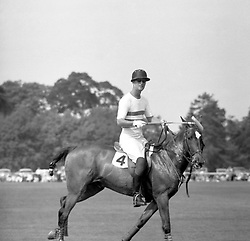File photo dated 10/05/59 of the Duke of Edinburgh playing polo at Smith's Lawn, Windsor Great Park, as a member of the Welsh Guards team. Philip was an accomplished all-round sportsman with a particular passion for polo and carriage driving. Issue date: Friday April 9, 2021.