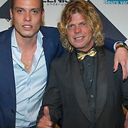 NLD/Amsterdam/20151012 - MTV EMA Pre Party, Toni Peroni en Tony Peroni Jr.