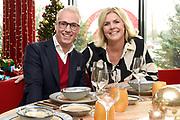 SBS6-programma Irene & Rudolph vieren kerst.<br /> <br /> Op de foto:  Irene Moors en Rudolph van Veen