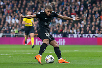 PSG Kylian Mbappe during Eight Finals Champions League match between Real Madrid and PSG at Santiago Bernabeu Stadium in Madrid , Spain. February 14, 2018. (ALTERPHOTOS/Borja B.Hojas)