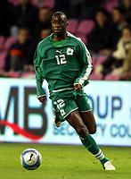 Fotball<br /> Privatlandskamp<br /> 16.11.2005<br /> Italia v Elfenbenskysten <br /> Foto: Graffiti/Digitalsport<br /> NORWAY ONLY<br /> <br /> Abdoulaye Meite Cote d'Ivoire