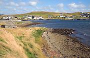 Village of Walls, Mainland, Shetland Islands, Scotland