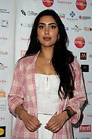 Nisha Aaliya Arriving for the screening of Granada Heights, UK Asian Film Festival, hosted at Rich Mix Shoreditch London photo by Terry Scott