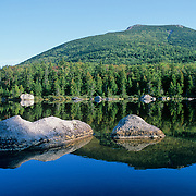 Reflection of South Turner Mountain in Sandy Stream Pond. Baxter State Park. Maine