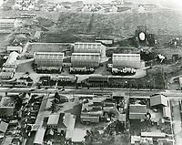 1922 Aerial of Hollywood Studios on Santa Monica Blvd.
