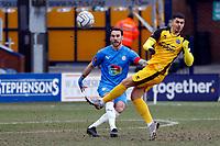 Liam Hogan. Stockport County FC 0-0 Aldershot Town FC. Vanarama National League. Edgeley Park. 13.2.21