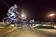 Nederland, Wijchen, 4-2-2014Fietsbaan van fietscross verening Wycross. De vereniging hoopt op subsidie van de gemeente om een nieuwe en voor wedstrijden geschikte baan aan te leggen. De vereninging kweekte al twee nederlands kampioenen, maar telt maar 140 leden hetgeen de gemeenteraad te weinig vindt..Foto: Flip Franssen/Hollandse Hoogte