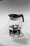 20-25/05/1966<br /> 05/20-25/1966<br /> 20-25 May 1966<br /> Competition prizes photographed at Lensmen Studio for Esso (Ireland) Ltd. Coffee pot.