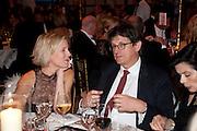SIDNEY FINCH; ALAN RUSBRIDGER, Evgeny Lebedev and Graydon Carter hosted the Raisa Gorbachev charity Foundation Gala, Stud House, Hampton Court, London. 22 September 2011. <br /> <br />  , -DO NOT ARCHIVE-© Copyright Photograph by Dafydd Jones. 248 Clapham Rd. London SW9 0PZ. Tel 0207 820 0771. www.dafjones.com.