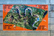 13-02-2016 -  Foto: Gorgeglide Cullinan Extreme Ziplining: het parcours. Genomen bij Muningi Gorge in Cullinan, Zuid-Afrika. Adventure Zone biedt met Gorgeglide Cullinan Xtreme ziplining met 4 afdalingen over het Muningi Gorge ravijn. Met een verval tot 75 meter kunnen snelheden rond de 90 km per uur worden gehaald. Het record staat op 121 km per uur.
