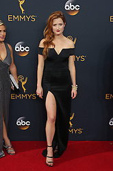 Grace Gummer arriving for The 68th Emmy Awards at the Microsoft Theater, LA Live, Los Angeles, 18th September 2016.
