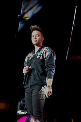 LOS ANGELES, CA - JANUARY 21 Prince Royce performs on stage during Calibash 2017 at the Staples Center in downtown Los Angeles on Saturday night 2016 January 21. Byline, credit, TV usage, web usage or linkback must read SILVEXPHOTO.COM. Failure to byline correctly will incur double the agreed fee. Tel: +1 714 504 6870.