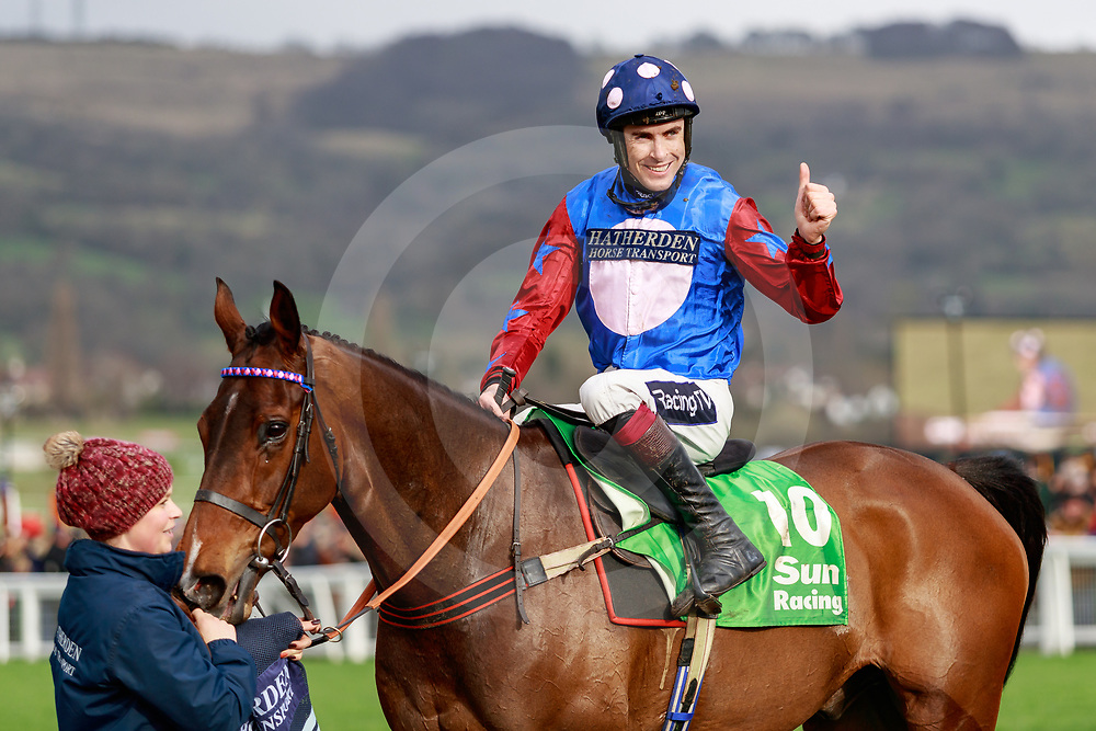 Paisley Park (A. Coleman) wins The Sun Racing Stayers' Hurdle Race Gr. 1 in Cheltenham 14/03/2019, photo: Zuzanna Lupa
