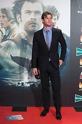"""03.12.2015, Callao Cinema, Madrid, ESP, Premiere, In the Heart of the Sea, im Bild Australian actor Chris Hemsworth // during the Madrid Premiere of the movie """" In the Heart of the Sea"""" at the Callao Cinema in Madrid, Spain on 2015/12/03. EXPA Pictures © 2015, PhotoCredit: EXPA/ Alterphotos/ Victor Blanco<br /> <br /> *****ATTENTION - OUT of ESP, SUI*****"""