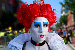 July 20, 2017 - San Diego, California, U.S. - MICHELLE NASH of San Diego dressed as the Red Queen from Alice in Wonderland at Comic-Con. (Credit Image: © K.C. Alfred/San Diego Union-Tribune via ZUMA Wire)