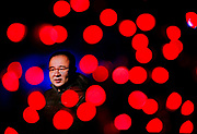 Portrait of University of Illinois Chicago College of Engineering BioE Assistant Professor Zhangli Peng for his research on red blood cell membranes