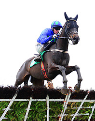 Coquin Mans ridden by Paul Townend win the Keelings Irish Strawberry Hurdle during BoyleSports Irish Grand National Day of the 2018 Easter Festival at Fairyhouse Racecourse, Ratoath, Co. Meath.