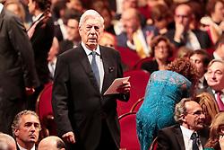 Mario Vargas Llosa attending the Princess Of Asturias Awards ceremony on October 19, 2018 in Oviedo, Spain. Photo by Archie Andrews/ABACAPRESS.COM