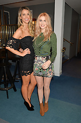 Left to right, VOGUE WILLIAMS and ASHLEY JAMES at a private screening of Eating Happiness in association with the World Dog Alliance held at Mondrian London, 20 Upper Ground, London on 25th January 2016.