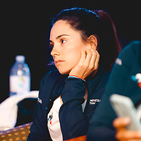 Lourdes Oyarbide. 2021 Movistar Team Training Camp, Almería. 11.1.2021.