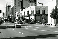 1971 Looking west at Hollywood Blvd. & Argyle Ave.