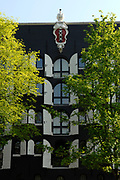 Amsterdam - Netherlands . Old building on the  Brouwersgracht .