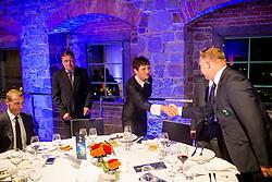 Official dinner ahead to the UEFA Futsal EURO 2018 Draw, on September 28, 2017 in Ljubljanski grad, Ljubljana, Slovenia. Photo by Vid Ponikvar / Sportida