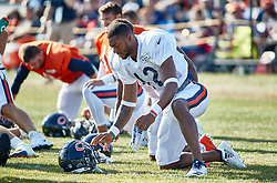 July 28, 2018 - Bourbonnais, IL, U.S. - BOURBONNAIS, IL - JULY 28: Chicago Bears wide receiver Allen Robinson (12) participates in drills during the Chicago Bears training camp on July 28, 2018 at Olivet Nazarene University in Bourbonnais, Illinois. (Photo by Robin Alam/Icon Sportswire) (Credit Image: © Robin Alam/Icon SMI via ZUMA Press)