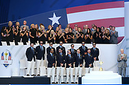 Team USA during the Opening Ceremony of Ryder Cup 2018, at Golf National in Saint-Quentin-en-Yvelines, France, September 27, 2018 - Photo Philippe Millereau / KMSP / ProSportsImages / DPPI