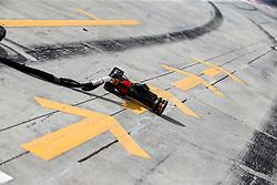 March 30, 2019 - Sakhir, Bahrain - Motorsports: FIA Formula One World Championship 2019, Grand Prix of Bahrain, ..Pit stop tools, track, Rennstrecke, tyres marks, skidmarks, Fahrbahn, Bremsspur, Bremsspuren, Strecke, Gummi, Spur, Reifenspuren, Reifenspur, Streifen, Asphalt, Abrieb, Gummi, marks  (Credit Image: © Hoch Zwei via ZUMA Wire)
