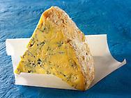 Blue Shropshire Cheese. British Blue Cheese Photos- Funky Stock Photos