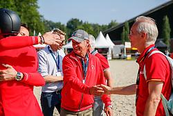 RIESENBECK - FEI Jumping European Championship Riesenbeck 2021<br /> <br /> FUCHS Thomas (SUI)<br /> Impressionen vom Abreiteplatz<br /> Second Qualifying Competition - Round 2 <br /> Team Final<br /> <br /> Hörstel-Riesenbeck, Reitanlage Riesenbeck International<br /> 03. September 2021<br /> © www.sportfotos-lafrentz.de/Stefan Lafrentz