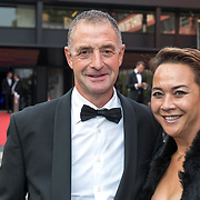 NLD/Hilversum/20180903 -   Voetbalgala 2018, Ernie Brands en partner Amy