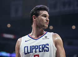 January 16, 2019 - Los Angeles, California, United States of America - Danilo Gallinari #8 of the Los Angeles Clippers during their NBA game with the Utah Jazz on Wednesday January 16, 2019 at the Staples Center in Los Angeles, California. Clippers lose to Jazz, 129-109. JAVIER ROJAS/PI (Credit Image: © Prensa Internacional via ZUMA Wire)