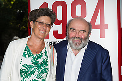 © Licensed to London News Pictures. 18/06/2015. London, UK. Andy Hamilton arrives at the press night for 1984 at the Playhouse Theatre, Northumberland Avenue in London tonight. Photo credit : Vickie Flores/LNP