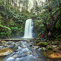 Beauchamp Falls, Otway National Park, Vic.